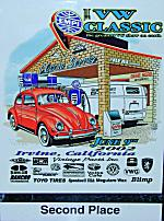 Plaque vwclassic th Sold: Award winning 1991 VW Vanagon GL Camper