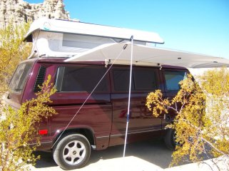 Redrock Camper Awning Shady Boy Camper Awnings