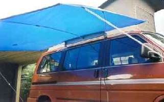 van2 Shady Boy Camper Awnings