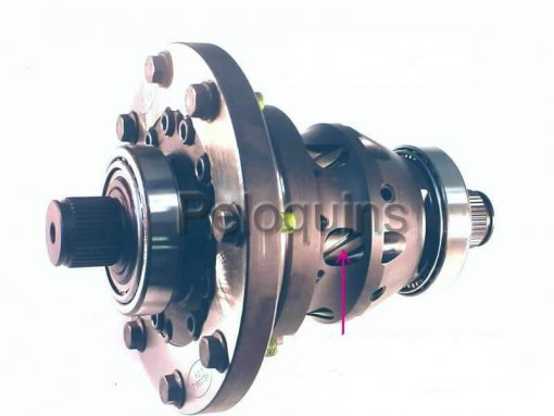 Peloquins Posi-Traction Differential