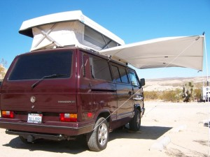 CHC Vanagon with Classic Pop Top and Awning