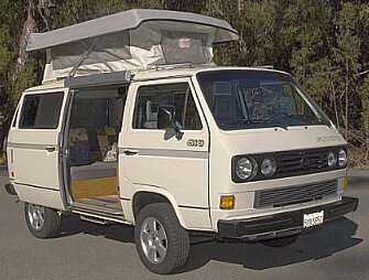 "1991 VW Vanagon Syncro the perfect ""getaways"" vehicle"