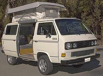 SF Chronicle features our 4X4 CHC Vanagon Syncro Camper