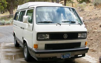 1991 Volkswagen Vanagon Camper SOLD