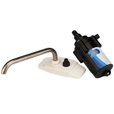 Replacement 12 Volt Water Pump and Faucet for Camper Sink