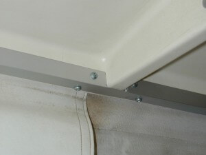 how to fix a cracked plastic ceiling