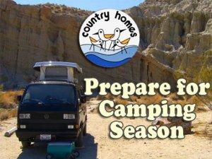 Prepare for Camping Season