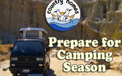 Prepare for Camping Season: Check Your Sink Water Pump