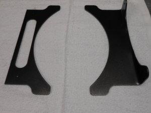 transmission cooler bracket set