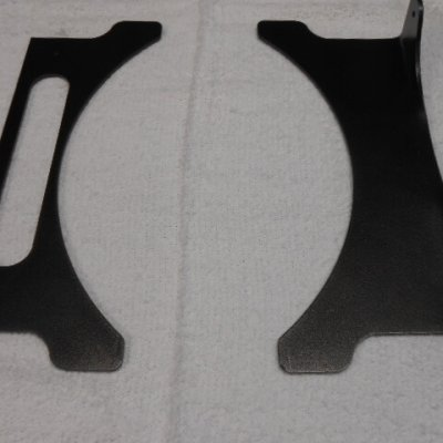 transmission cooler bracket set