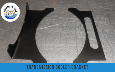 New Transmission Cooler Bracket Set