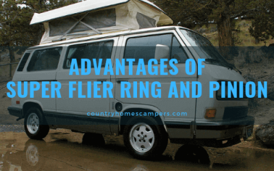 Advantages of Super Flier Ring and Pinion (R&P)