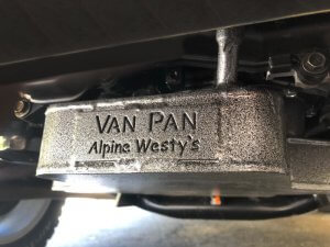 Vanagon Oil Pan - Summer Camping Tip