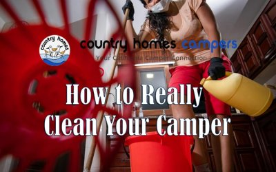 How to Really Clean Your Camper