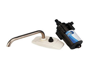 Country Homes Campers - Replacement 12 Volt Water Pump and Faucet for Camper Sink