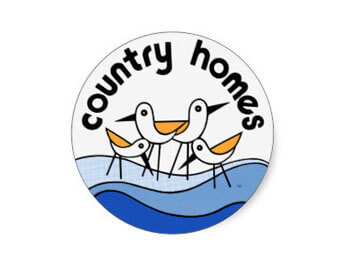 Country Homes Campers - sticker