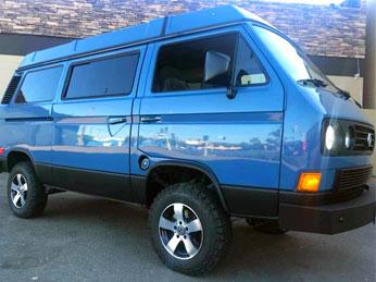 Van with GTI Alloy Wheels